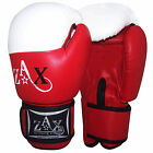 Rex Leather Boxing Gloves Sparring Punch Bag Training Mitts Gloves 14 OZ