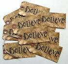 Hang Tags PRIMITIVE GRUNGY BELIEVE TAGS T 147 Gift Tags
