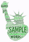 word art picture personalised gift present keepsake Statue of Liberty
