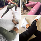 Women Yoga Gym Running Leggings Elastic Long Pant Fitness Gym Legging Sportswear