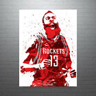 James Harden Houston Rockets Scream Poster FREE US SHIPPING on eBay