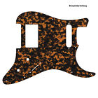 HS PICKGUARD für US / MEXICO STRAT Standard od. Floyd Rose Tremolo brown tiger