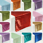 """10 SEQUIN TULLE TABLE RUNNERS or CHAIR COVER SASHES 14""""x1..."""