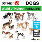 SCHLEICH WORLD OF NATURE FARM LIFE DOGS FIGURES ANIMAL TOYS & DOGS FIGURINES