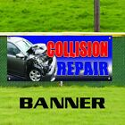 Collision Repair Banner Outdoor Indoor Sign Auto Body Shop Service