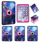 Dream Sky Protective Tough Rugged Rubber BUMPER Case for iPad Mini 1 2 3 Air 2