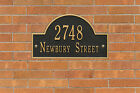 Arch Marker Two Line Personalized Address Plaque