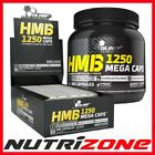 OLIMP HMB Mega Caps 1250 mg Anticatabolic Formula Lean Muscles 15-300 caps