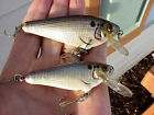 "( 2 ) VINTAGE * BAGLEY LURES * 2 1/2"" SMALL FRY &  3"" SMALL FRY *  CRANK BAITS"
