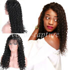 Glueless Brazilian Human Hair Lace Front Wig Full Lace Wi...