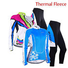 New Women Cycling Jerseys Winter Thermal Fleece Bicycle Wear Clothes Bike Pants