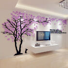 3D DIY Acrylic Wall Decals/Adhesive Family TV Wall Stickers Mural Art Home Decor