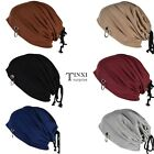 New Men Women Unisex Korean Style Adjustable Drawstring Beanie Baggy TXSU