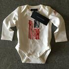 Tommy Hilfiger White Baby Body Grow BNWT 3-6m 6-9m 9-12m Designer Infant Romper