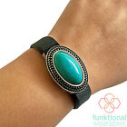 Fitbit Charm Jewelry Set to Accessorize Most Fitness Trackers -GENUINE TURQUOISE