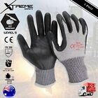 Cut Resistant Work Gloves High Density Nitrile Palm Safety Gloves PPE 1 Pair