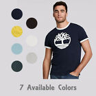 Timberland Men's Short Sleeve Tree Logo Ringer T-Shirt Style A1KCD/A1Q3T