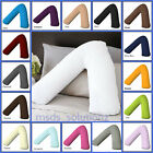 V Shaped Pillow and Pillowcase cover~Orthopedic Nursing Pregnancy Baby Support