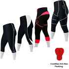 Quality Cycling Tights 3/4 Shorts Trousers Leggings Tights Padded  LADIES,MENS