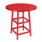 """C.R.Plastic Products Generations Collection 32"""" Round Pub Table"""