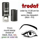 Eye Loyalty Card Stamp Self Inking rubber stamp opticians beautician hairdresser