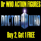 Doctor Who Action Figures - Multi Listing - Discounts Available -New Items Added
