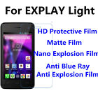 3pcs For EXPLAY Light High Clear/Matte/Nano Explosion/Anti Blue Ray Screen Film