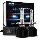 12000LM CSP Chips LED Headlight H4/H7/9005/H11/H1 Bulbs 6000K Beam Fog light Kit