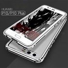 Original Ginmic Aluminum Bumper Frame Transparent Back Cover Case for Huawei P10