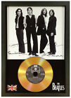 THE BEATLES - SIGNED PHOTO AND GOLD DISC DISPLAY Revolver, Hey Jude, Yesterday..