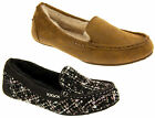 Ladies Skechers Bobs Cozy Jr SoleMate Memory Foam and Faux Fur Lined Moccasins