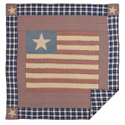 Independence USA Flag Inspired Patchwork Quilt in 4 Sizes