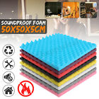 Fire Proof Acoustic Studio Music Foam Soundproofing Absorption Treatment 50*50cm
