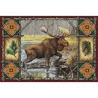 Moose Lodge Art Tapestry Placemat 1045-PM ~ Made in USA