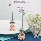 Vintage Baby Boy Place Card Holder from PartyFairyBox - Baptism Christening