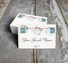 ITALY ITALIAN POSTCARD WEDDING PLACE CARDS, TAGS or ESCORT CARDS #185