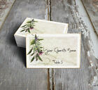 RUSTIC WILDFLOWER HERBS WEDDING PLACE CARDS, TAGS or ESCORT CARDS #358