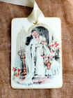 Hang Tags  VINTAGE STYLE BRIDE & GROOM WEDDING TAGS or MAGNET #147  Gift Tags