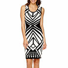 Bisou Bisou Sleeveless Bodycon Sweater Dress Size M New Msrp $86.00