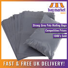 Strong Grey Mailing Bags | Postal/Postage/Packing/Courier/Large Letter/Eco