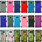 For Samsung Galaxy S8 / S8 Plus Defender Case Cover W/ [belt Clip Fits Otterbox]