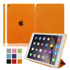 PU Leather Smart Stand Cover Hard Back Case for Apple iPad 4 3 2 Mini Air  2 3