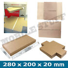 Royal Mail Large Letter Cardboard Postal Mailing PiP Boxes - 280 x 200 x 20mm