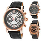 Lucien Piccard Morano Chronograph Gold Mens Watch - Choose color