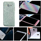 Glitter Bling Full Body Skin Sticker Protector Case Cover for Samsung S7 Note 4