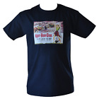 T SHIRT HOT ROD GIRL MOVIE POSTER ROCK N ROLL MENS BLACK ALL SIZES S TO 3XL