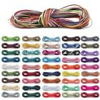 Korea Waxed Polyester Cord Thread Jewellery DIY Bracelet Making 1/1.5/2/3mm DIY