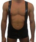 Rubber latex wrestling singlet play suit made to measure Various colours