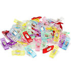 50/100Pcs Clover Wonder Clips for Crafts Quilting Sewing Knitting Crochet Chic