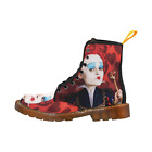 Fashion And Comfortable Custom Alice in Wonderland Women Boots Martin Boots